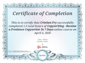 Become a Freelance Copywriter in 7 Days