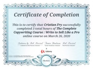 Complete Copywriting Course