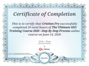 Ultimate SEO Course 2020